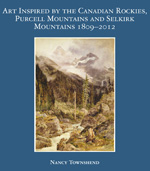 Book cover for Art Inspired by the Canadian Rockies, Purcell Mountains, and Selkirk Mountains